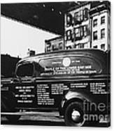Ambulance, Late 1930s, Nyc Canvas Print