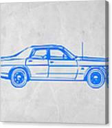 American Car Canvas Print