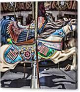 American Carousel Horse Canvas Print