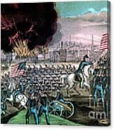 American Civil War, Capture Of Atlanta Canvas Print