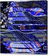 American Flag 3 Canvas Print