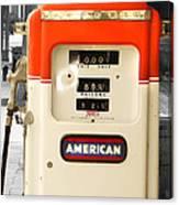 American Gas Canvas Print