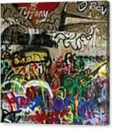American Graffiti 17- Jake From State Farm Canvas Print