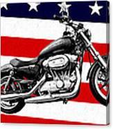 American Made Canvas Print