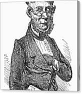 American Schoolmaster Canvas Print