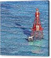 American Shoal Lighthouse Canvas Print