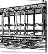 American: Streetcar, 1880s Canvas Print
