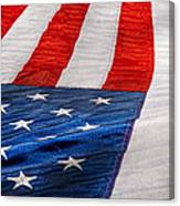 Americana - Flag - Stars And Stripes  Canvas Print