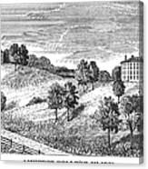 Amherst College, 1821 Canvas Print
