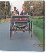 Amish Convertible Canvas Print