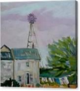 Amish Farmhouse Canvas Print