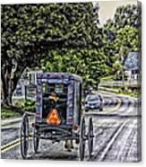 Amish Girl Canvas Print