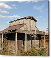 Amish Shed #3 Canvas Print