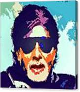Amitabh Bachchan Canvas Print