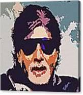 Amitabh Bachchan The Superstar Canvas Print