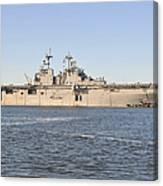 Amphibious Assault Ship Uss Wasp Canvas Print