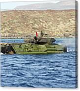 Amphibious Assault Vehicle Crewmen Canvas Print