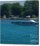 Amsoil Offshore Racer Canvas Print