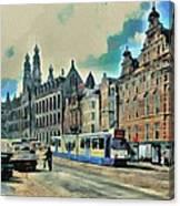 Amsterdam Tour  Streets 1 Canvas Print