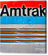 Amtrak Train Canvas Print