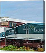 Amtraks Cascade Engine Canvas Print