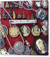 Amulets For Sale Canvas Print