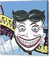 Amused Joker Canvas Print