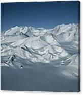 An Aerial View Of Mount Vinson Canvas Print