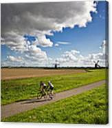 An Afternoon Ride Canvas Print