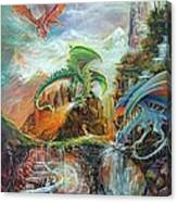 An Al Nathrach Canvas Print