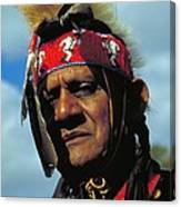 An American Indian No2 Canvas Print
