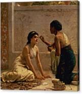 An Ancient Custom Canvas Print