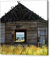 An Empty Barn  Canvas Print