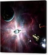 An Enormous Stellar Power Canvas Print
