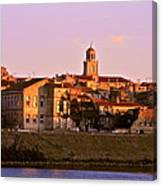 An Evening In Arles  Canvas Print