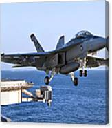 An Fa-18f Super Hornet Takes Canvas Print