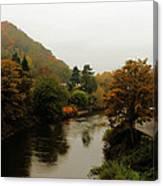 An Ironbridge Autumn Canvas Print