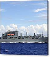 An Mh-60s Sea Hawk Prepares To Drop Canvas Print
