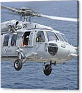 An Mh-60s Sea Hawk Search And Rescue Canvas Print