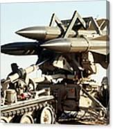 An Mim-23b Hawk Surface-to-air Missile Canvas Print