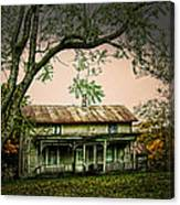 An Old Home Place Canvas Print