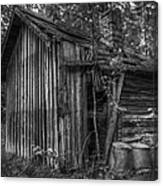 An Old Sauna Canvas Print