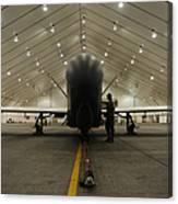 An Rq-4 Global Hawk Unmanned Aerial Canvas Print