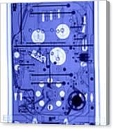 An X-ray Of A Pinball Machine Canvas Print
