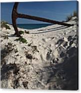 Anchor Beach 10 Canvas Print