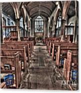 Ancient Lingfield Church Canvas Print