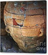 Ancient Relic Of Crete Canvas Print