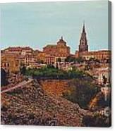 Ancient Spanish City Canvas Print
