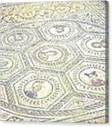 Ancient Spanish Mosaic Canvas Print