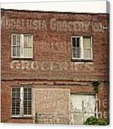 Andalusia Grocery Co Canvas Print